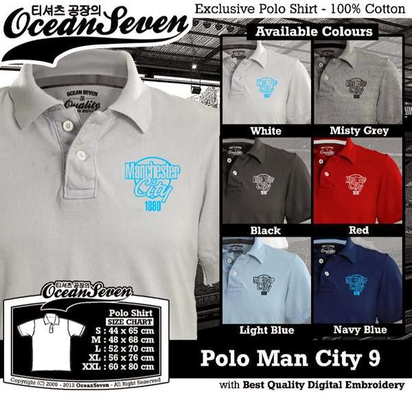 POLO Man City Manchester City 9 Premier League distro ocean seven