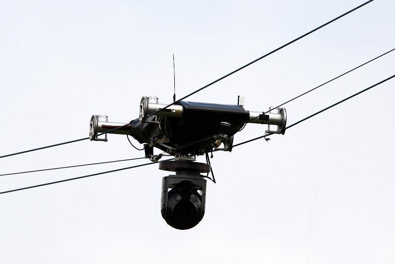новая телевизионная камера на трассе Сильверстоуна на Гран-при Великобритании 2011