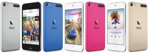 Apple bất ngờ tung iPod touch phiên bản màu vàng