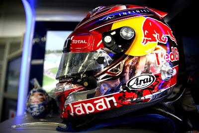 шлем Себастьяна Феттеля для Гран-при Японии 2014