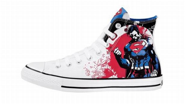 Converse e DC Comics em parceria luxo e desejo!