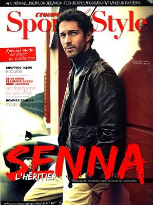 Бруно Сенна на обложке журнала Sport & Style