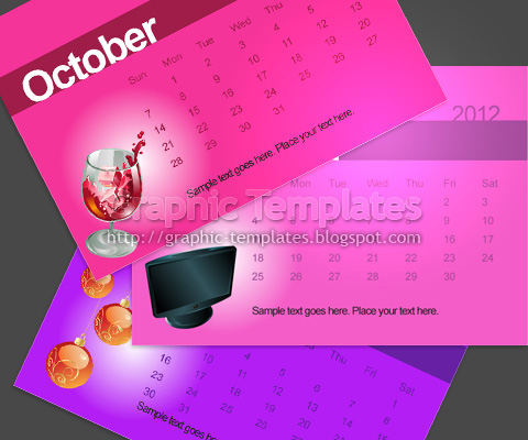 calender preview