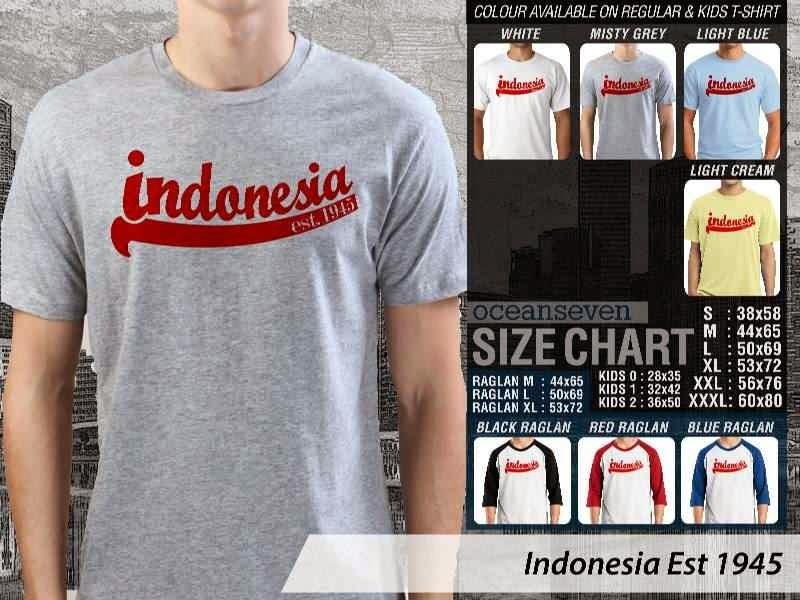 KAOS Indonesia Est 1945 distro ocean seven
