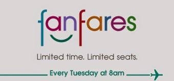 國泰假期新一期【Fanfares】10月14日早上8時開買!