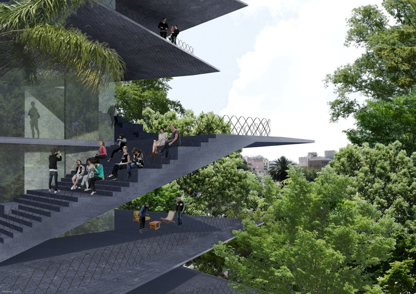 ARCHIVO Design For New Building In Mexico City