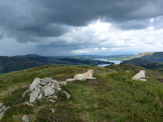 Summit of Birk Fell