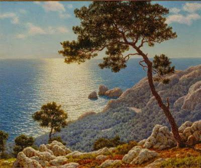 Ivan Fedorovich Choultse - Sur La Corniche (Cote d'Azur)