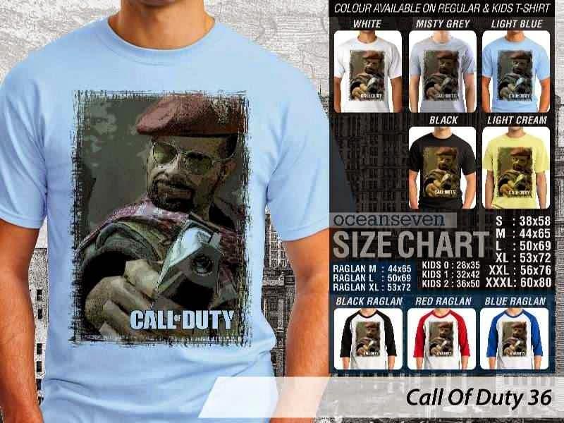 KAOS cod Call Of Duty 36 Game Series distro ocean seven