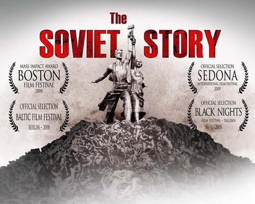 Sowiecka historia / The Soviet Story (2008) PL.TVRip.XviD / Lektor PL