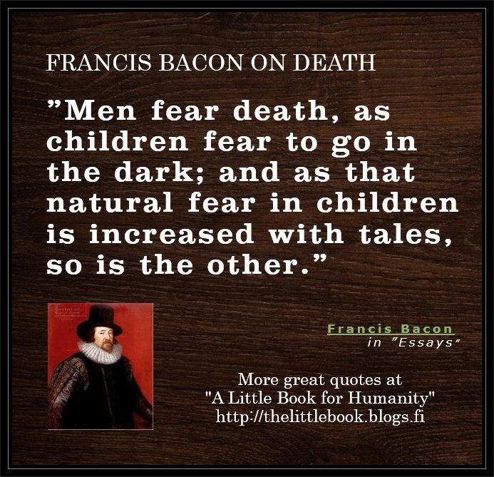 essay death bacon