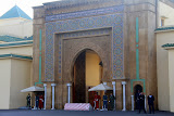 The Entrance To The Royal Palace - Rabat, Morocco