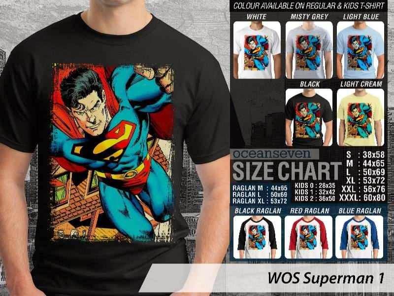 KAOS superman 1 Movie Series distro ocean seven