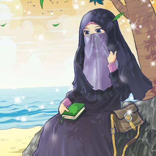 pin kartun muslimah solehah ajilbab  portal pictures on