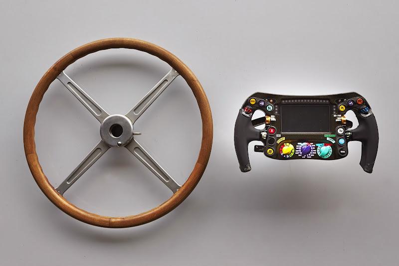 рулевое колесо Mercedes 50-х и 2014