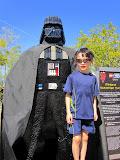 Eidan with Darth Vader