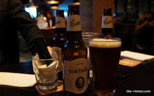 coopers vintage extra strong ale