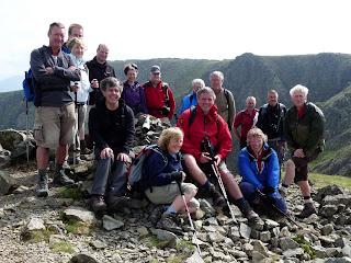 Group photo on Steeple