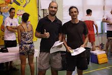 Vainqueur Double Homme Senior NC : Fabrice RIVIERE / Marc DIJOUX