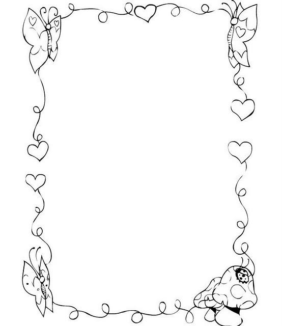 Dibujos de corazones para descargar imprimir y colorear