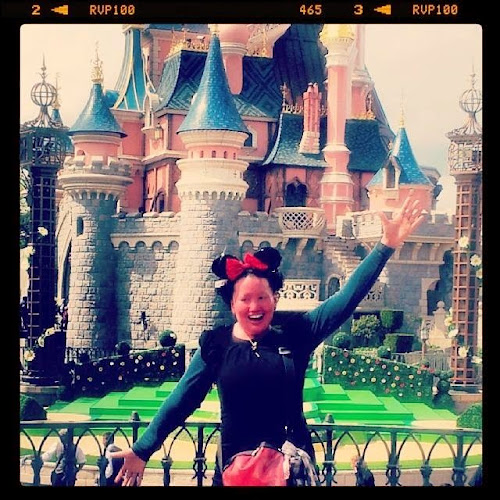 Carly Findlay at Paris DIsney