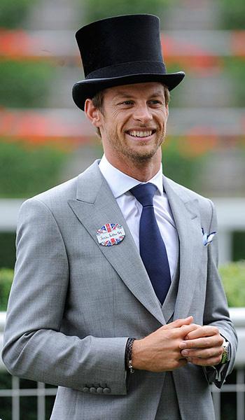 Дженсон Баттон на Royal Ascot 20 июня 2012