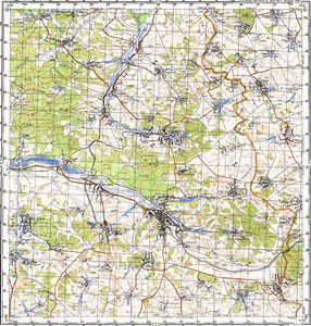Map 100k--m36-047--(1989)