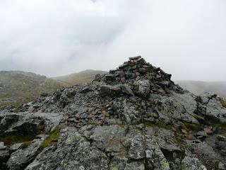Blea Crag cairn.