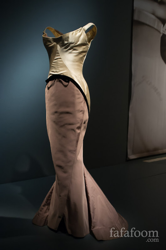 "Charles James, ""Diamond"" gown, 1957."