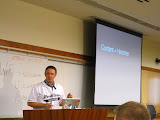 @simpledream presenting on how to test (and break!) WordPress themes at WordCamp San Diego