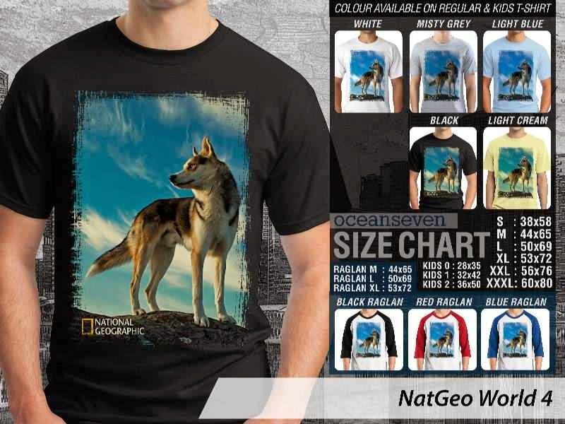 Kaos National Geographic NatGeo World 4 distro ocean seven