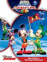 La Casa de Mickey Mouse: Aventuras en el espacio (2011) online y gratis