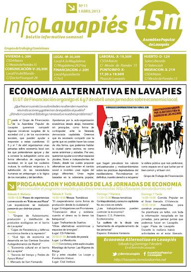 InfoLavapiés nº11 - 1 de abril de 2013