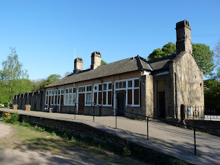 The Millers Dale Station buildings are no longer used except for public toilets.