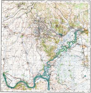 Уменьшенное изображение Карта 200k--m52-22