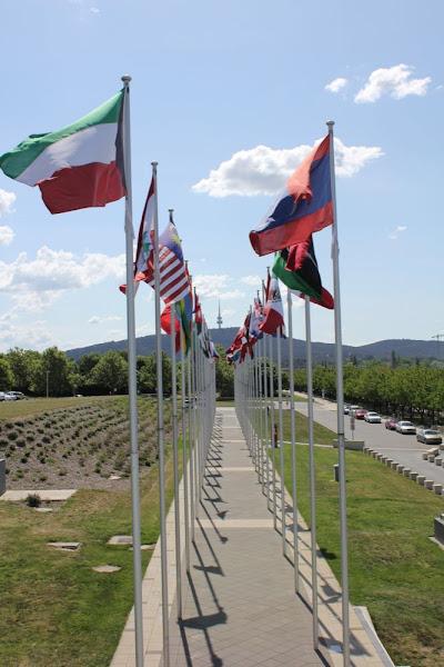 flags and telstrayama
