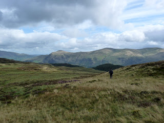 On the way to Raven Crag (in trees on right)