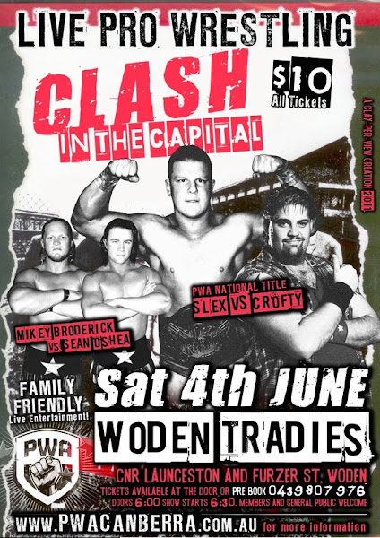 clash in the capital poster