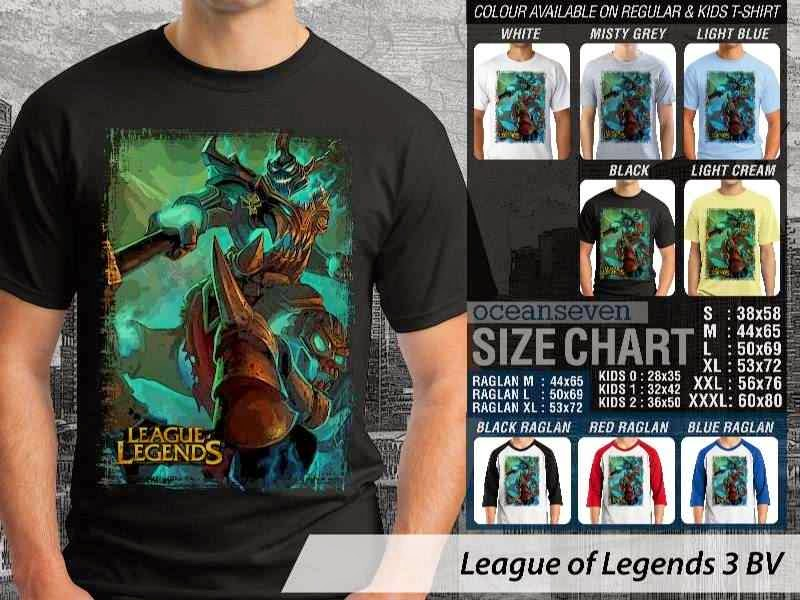 Kaos Game Online League of Legends 3 distro ocean seven