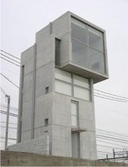 badarchitecturesucks: ando, 4x4 house