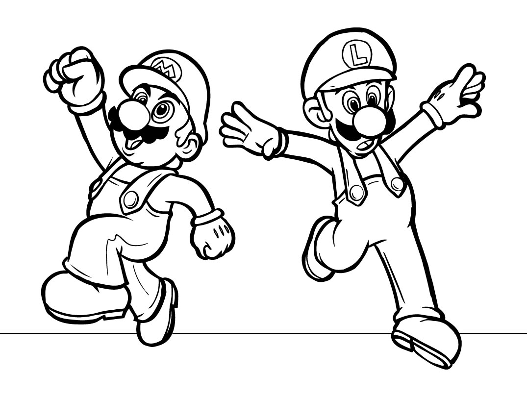 mario kart coloring pages - Mario Kart Wii coloring book pages GoNintendo
