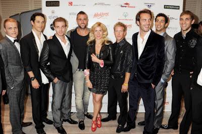 пилоты на Amber Fashion Show на Гран-при Монако 2012