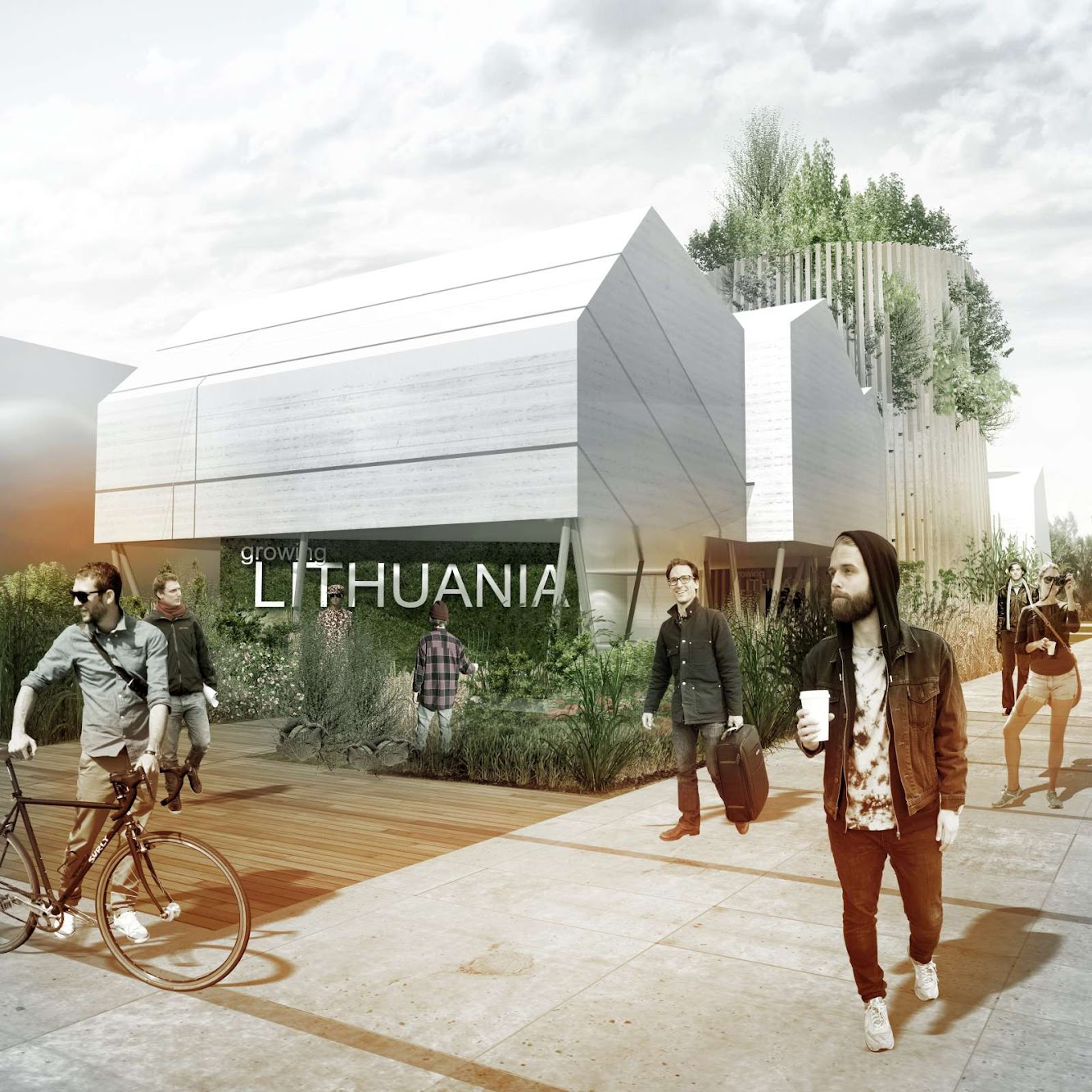 Pavilion: LITHUANIAN PAVILION EXPO 2015 by VILNIUS ARCHITECTURE STUDIO