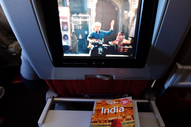 I was delighted to find The Best Exotic Marigold Hotel available on the in-flight entertainment unit.