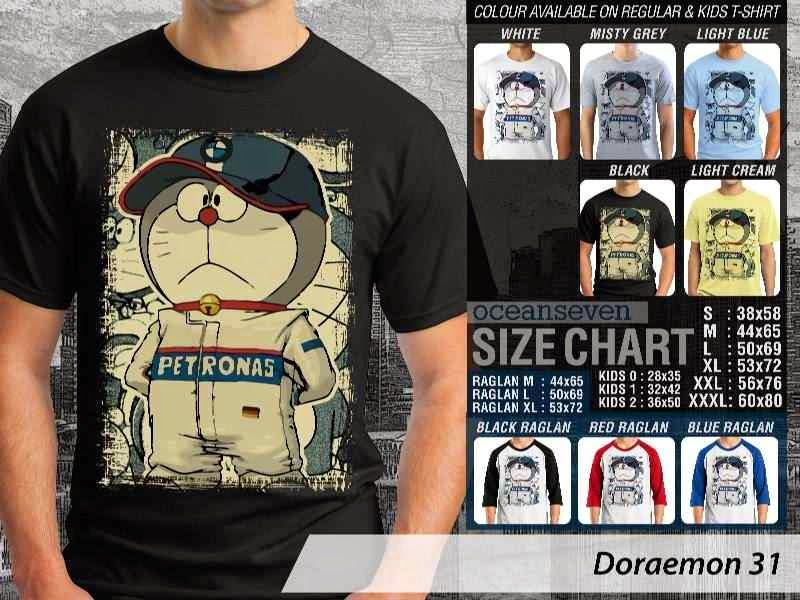 KAOS Doraemon 31 Manga Lucu distro ocean seven