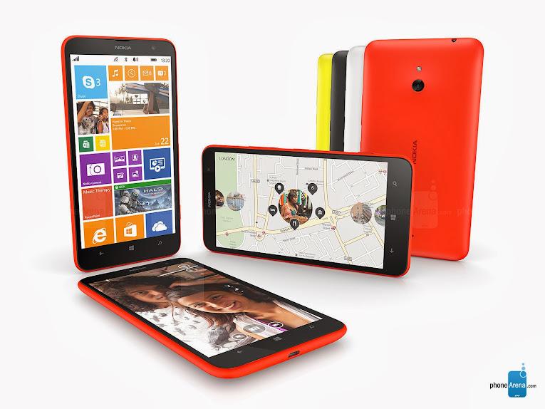 Nokia Lumia 1320 - Spesifikasi Lengkap dan Harga