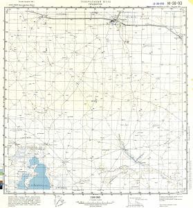 Thumbnail Map 100k--m38-093