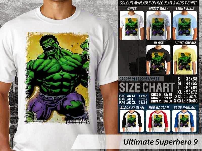 KAOS hulk 9 Ultimate Superhero distro ocean seven