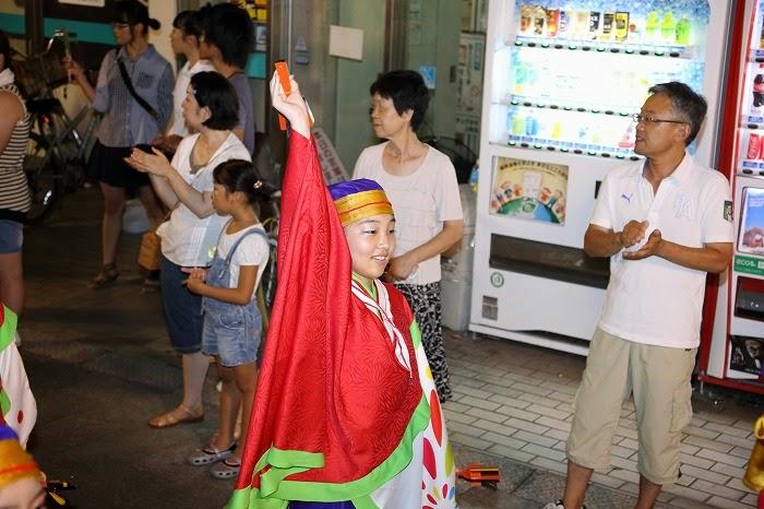 第60回よさこい祭り☆本祭2日目・上町競演場34☆上2目2792