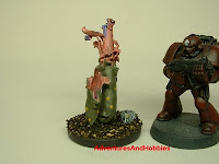 More alien flora Fantasy and Science Fiction war game terrain and scenery